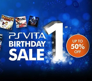 PS Vita Birthday Sale